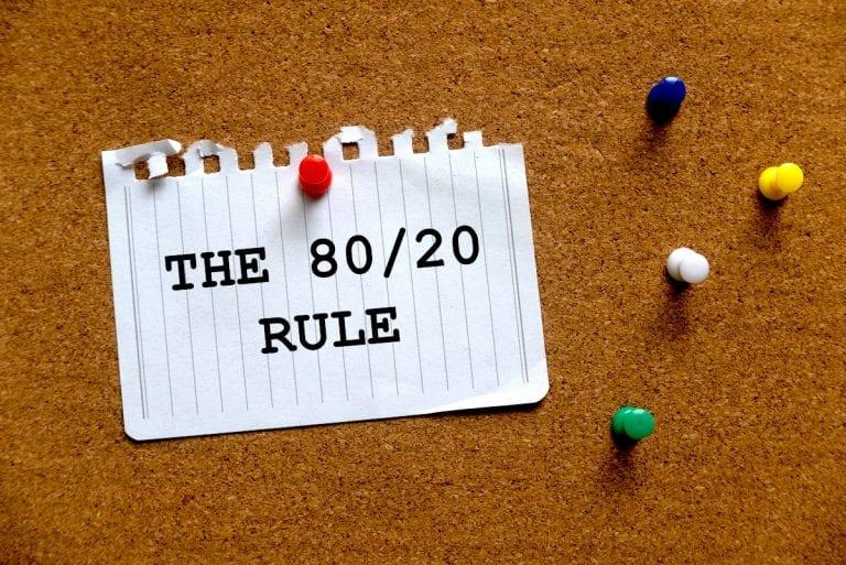 Das Pareto-Prinzip: Alles über die 80-20-Regel